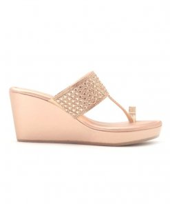 Delco Wedge Heeled Chappals- Sultan