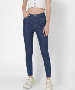 ONLY BLUE MID RISE SKINNY JEANS