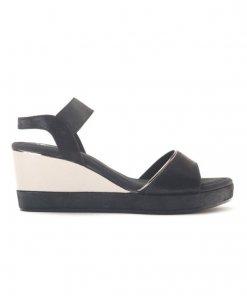 Delco Glowing Strappy wedge heels