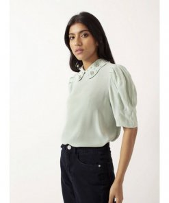 COVERSTORY Alice Peter Pan Collar Blouse