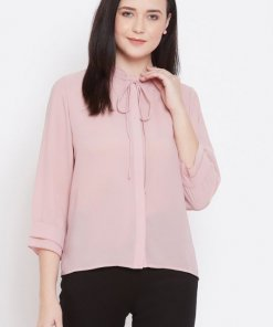 Madame Pink Color Shirts For Women