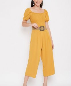 Madame Mustard Jump Suits For Women