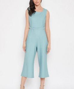 Madame Mint Jump Suits For Women